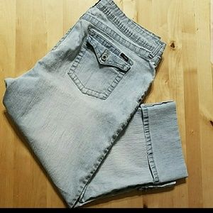 Angels cropped jeans
